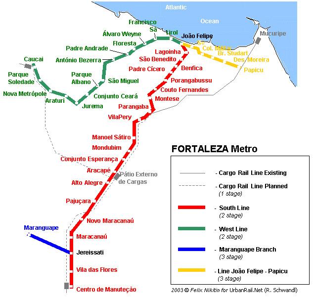 схема метро Фортлеса