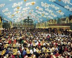 праздник Октоберфест в Мюнхене