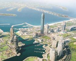 Башня принцессы (Princess Tower) в Дубае