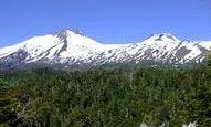 Вулкан Мочо-Чосуэнко в Чили