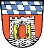 герб Деггендорфа Германии