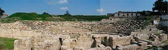 Античный театр в Лариссе в Греции