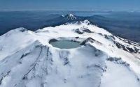 Кратерное озеро вулкана Руапеху